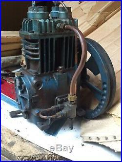 Quincy 210 Air Compressor Pump And Flywheel