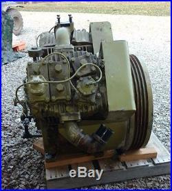 Quincy 5105 5120 Air Compressor Pump And Motor Air