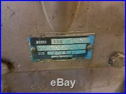 Quincy Model 230 32 Air Compressor Pump Head Air