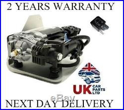 Range Rover Sport Air Suspension Compressor Pump + Relay Lr023964