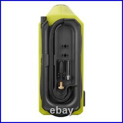 Ryobi 18V Portable Air Compressor Cordless Tire Inflator Deflator Car Bike Pump
