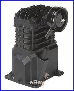 SPEEDAIRE 2WGX7 Air Compressor Pump, 1 Stage