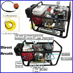 Scuba Diving Air Compressor Pump Honda Gasoline Directly Breath WithHose+Regulator