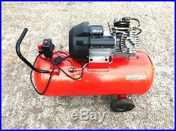 Sealey Tools SAC10030 100 Litre 100L 3HP Direct Drive Air Compressor V Twin Pump