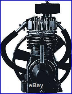 Speedaire 5z404b 5hp Compressor Pump 2-stage Tf2101 C105 Ce7 5z398