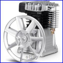 Twin Piston Air Compressor Head Pump 3HP Heavy Duty Aluminium Motor 145 PSI