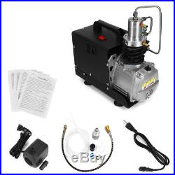USA 110V 30Mpa PCP Electric High Pressure System Air Compressor Pump 4500PSI