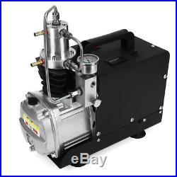 US 110V 30MPa 4500PSI Air Compressor Pump PCP Electric High Pressure System