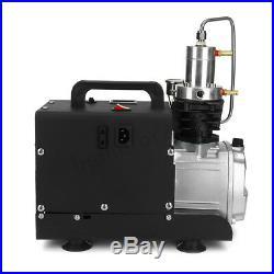 US 30MPa Air Compressor Pump 110V PCP Electric 4500PSI High Pressure System