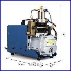 VEVOR High Pressure Air Pump 110V 30Mpa Air Compressor Electric 4500PSI for PCP