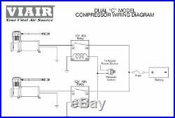 Viair 485C Platinum Dual Pack Air Compressors Air Ride Suspension Bags Pump
