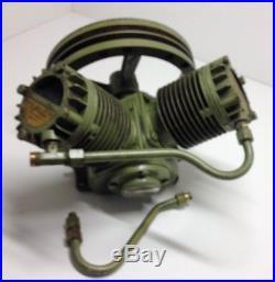 Vintage Champion Cvi 2hp 125 Psi Cast Air Compressor Pump