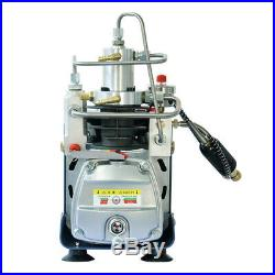 YONG HENG 110V 30MPa Electric Air Compressor Pump High Pressure Auto Shutdown