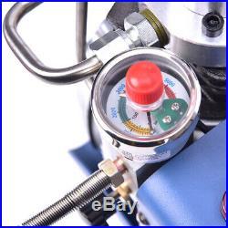 YONG HENG 30MPa 4500PSI Electric Auto Pump Air Compressor High Pressure Shut PCP