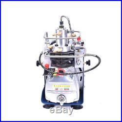 YONG HENG 30MPa Air Compressor Pump PCP Electric 4500PSI High Pressure Auto-Stop