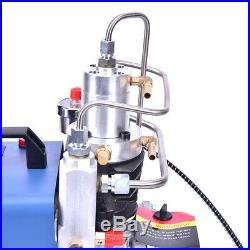 YONG HENG Auto Shut 30MPa Air Compressor Pump PCP Electric 4500PSI High Pressure