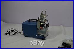 YONG HENG UPDATE -2 PCP 110V 30MPa Electric Air Compressor Pump Hardback